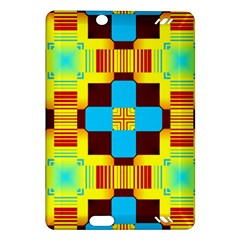 Abstract Yellow Flowers Kindle Fire Hd (2013) Hardshell Case by LalyLauraFLM