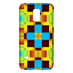 Abstract Yellow Flowerssamsung Galaxy S5 Mini Hardshell Case by LalyLauraFLM