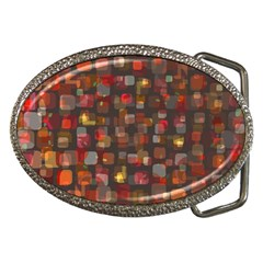 Floating Squares Belt Buckle by LalyLauraFLM