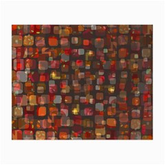 Floating Squares Small Glasses Cloth (2 Sides)