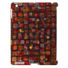 Floating Squares Apple Ipad 3/4 Hardshell Case (compatible With Smart Cover) by LalyLauraFLM