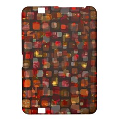 Floating Squares Kindle Fire Hd 8 9  Hardshell Case by LalyLauraFLM