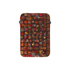 Floating Squares Apple Ipad Mini Protective Soft Case by LalyLauraFLM