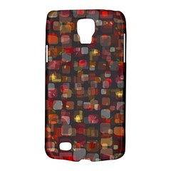 Floating Squares Samsung Galaxy S4 Active (i9295) Hardshell Case by LalyLauraFLM