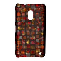 Floating Squares Nokia Lumia 620 Hardshell Case by LalyLauraFLM
