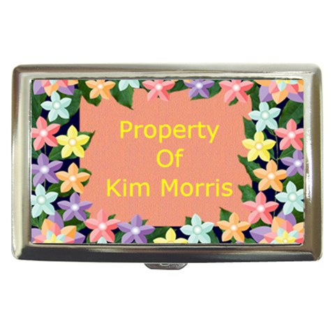 Kim Morris Cigarette Holder By Kim Blair   Cigarette Money Case   Wp7w8j0hfc1k   Www Artscow Com Front
