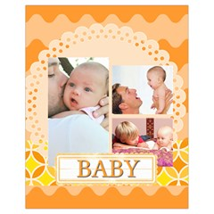 Baby By Baby   Drawstring Bag (small)   8lp79myednlz   Www Artscow Com Back