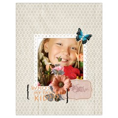 Kids By Kids   Drawstring Bag (large)   Bvr4cortj1z9   Www Artscow Com Front