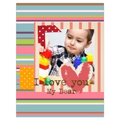Kids By Kids   Drawstring Bag (large)   Zx6v4qqd3t43   Www Artscow Com Front