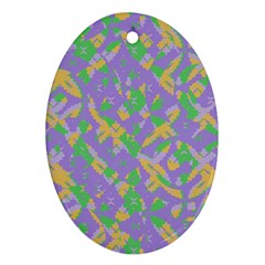 Mixed Shapes Ornament (oval) by LalyLauraFLM