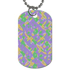 Mixed Shapes Dog Tag (two Sides) by LalyLauraFLM