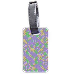 Mixed Shapes Luggage Tag (two Sides) by LalyLauraFLM