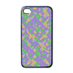 Mixed Shapes Apple Iphone 4 Case (black) by LalyLauraFLM
