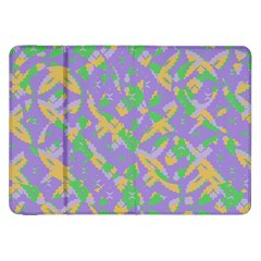 Mixed Shapes Samsung Galaxy Tab 8 9  P7300 Flip Case by LalyLauraFLM