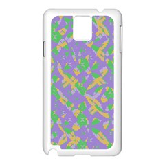 Mixed Shapes Samsung Galaxy Note 3 N9005 Case (white) by LalyLauraFLM