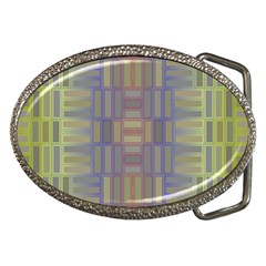 Gradient Rectangles Belt Buckle by LalyLauraFLM