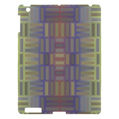 Gradient Rectangles Apple Ipad 3/4 Hardshell Case by LalyLauraFLM