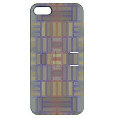 Gradient Rectangles Apple Iphone 5 Hardshell Case With Stand by LalyLauraFLM