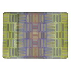 Gradient Rectangles Samsung Galaxy Tab 10 1  P7500 Flip Case by LalyLauraFLM