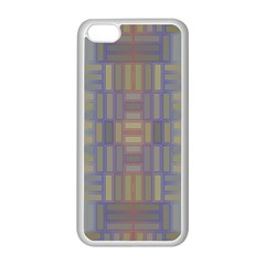 Gradient Rectangles Apple Iphone 5c Seamless Case (white) by LalyLauraFLM