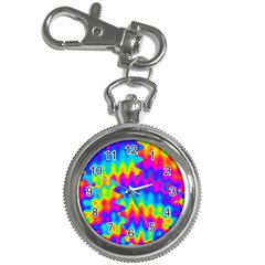 Amazing Acid Rainbow Key Chain Watches by KirstenStar
