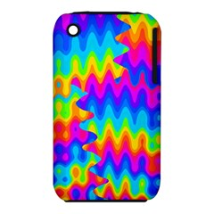 Amazing Acid Rainbow Apple Iphone 3g/3gs Hardshell Case (pc+silicone) by KirstenStar
