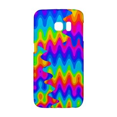 Amazing Acid Rainbow Galaxy S6 Edge by KirstenStar