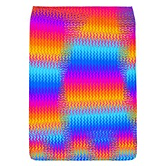 Psychedelic Rainbow Heat Waves Flap Covers (S)  by KirstenStar