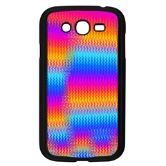 Psychedelic Rainbow Heat Waves Samsung Galaxy Grand Duos I9082 Case (black) by KirstenStar