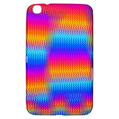 Psychedelic Rainbow Heat Waves Samsung Galaxy Tab 3 (8 ) T3100 Hardshell Case  by KirstenStar