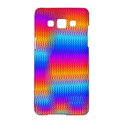 Psychedelic Rainbow Heat Waves Samsung Galaxy A5 Hardshell Case  by KirstenStar