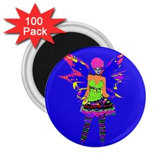 Fairy Punk 2 25  Magnets (100 Pack)  by icarusismartdesigns