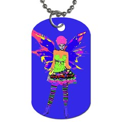 Fairy Punk Dog Tag (two Sides) by icarusismartdesigns