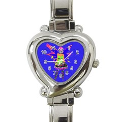 Fairy Punk Heart Italian Charm Watch by icarusismartdesigns