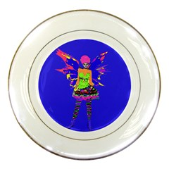 Fairy Punk Porcelain Plates by icarusismartdesigns