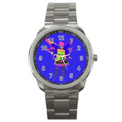 Fairy Punk Sport Metal Watches by icarusismartdesigns
