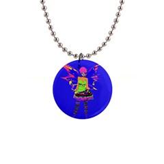 Fairy Punk Button Necklaces by icarusismartdesigns