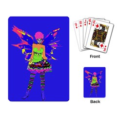 Fairy Punk Playing Card by icarusismartdesigns