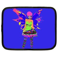 Fairy Punk Netbook Case (xxl)  by icarusismartdesigns