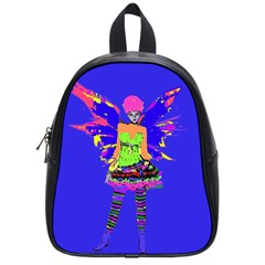 Fairy Punk School Bags (small)  by icarusismartdesigns