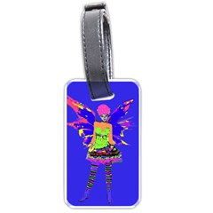 Fairy Punk Luggage Tags (two Sides) by icarusismartdesigns