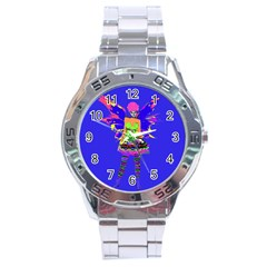 Fairy Punk Stainless Steel Men s Watch by icarusismartdesigns