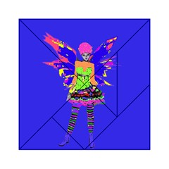 Fairy Punk Acrylic Tangram Puzzle (6  X 6 ) by icarusismartdesigns