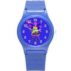 Fairy Punk Round Plastic Sport Watch (s) by icarusismartdesigns