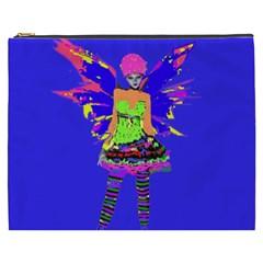 Fairy Punk Cosmetic Bag (xxxl)  by icarusismartdesigns