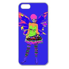 Fairy Punk Apple Seamless Iphone 5 Case (clear) by icarusismartdesigns