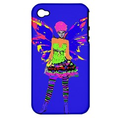 Fairy Punk Apple Iphone 4/4s Hardshell Case (pc+silicone) by icarusismartdesigns