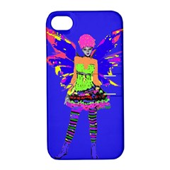Fairy Punk Apple Iphone 4/4s Hardshell Case With Stand by icarusismartdesigns