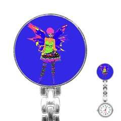 Fairy Punk Stainless Steel Nurses Watches by icarusismartdesigns