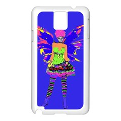 Fairy Punk Samsung Galaxy Note 3 N9005 Case (white) by icarusismartdesigns